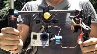 【CES2016速報】SONY製CMOS搭載!4Kカメラ一体型ジンバル「ROXOR(ロクサー)」が一般公開