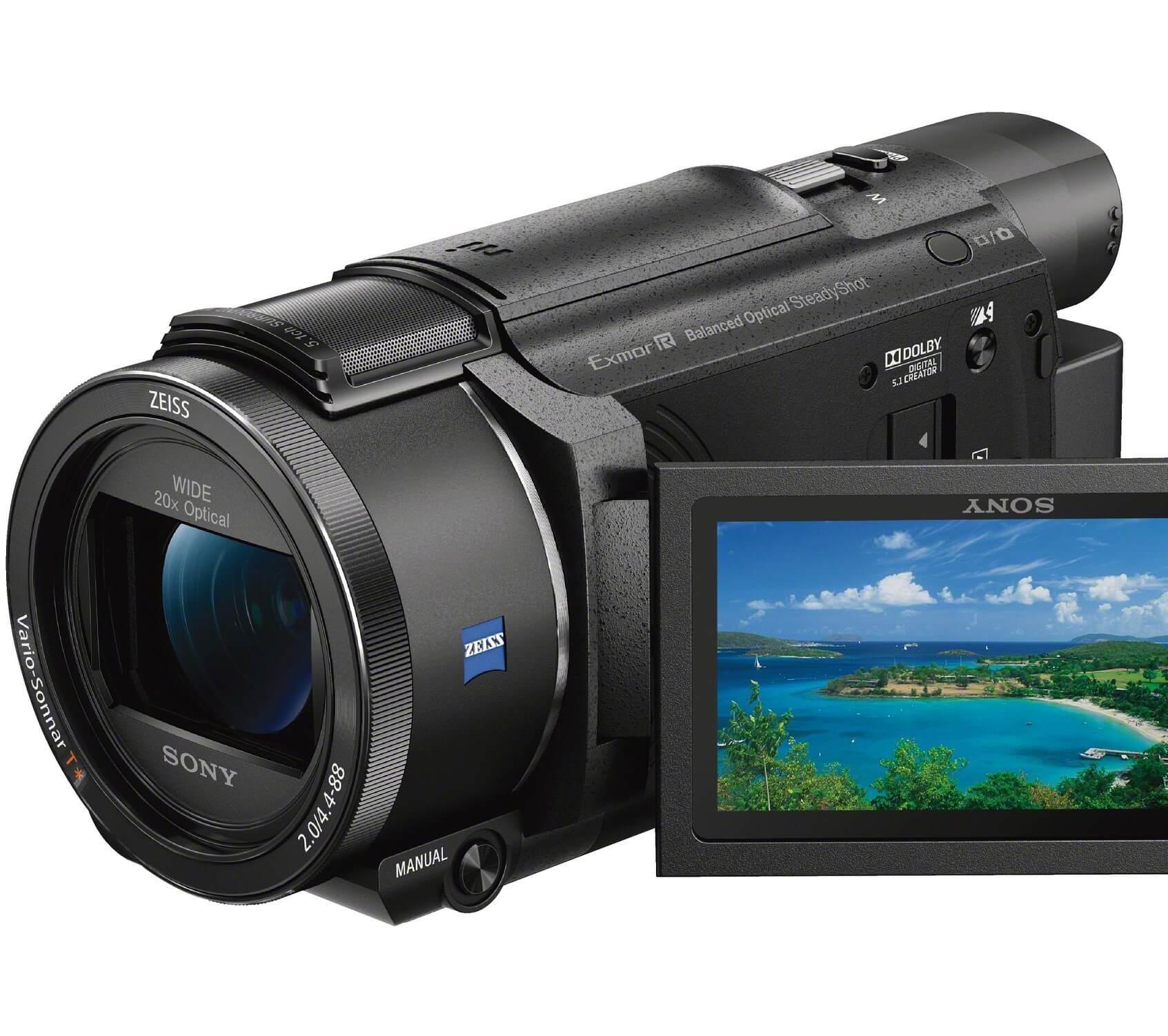 【CES2016速報】ソニー、新型4Kハンディカム「FDR-AX55」及び4K/HDR対応新BRAVIA「X93D」シリーズを発表