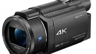 ソニー、2016年新型4Kビデオカメラ「FDR-AX55」「FDR-AX40」が2/19より発売開始