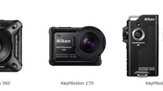 ニコン初!4K UHD・360°撮影可能!「KeyMission 360」が10月28日に発売!