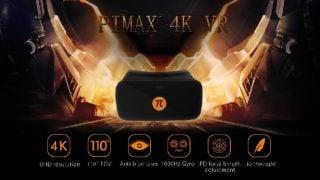4K画質のVRヘッドセット、Pimaxから発売。日本にも発送可能な模様。値段も安い!