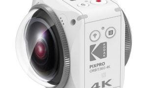 Kodakのアクションカム「ORBIT360 4K」はどんな360度VRカメラか?