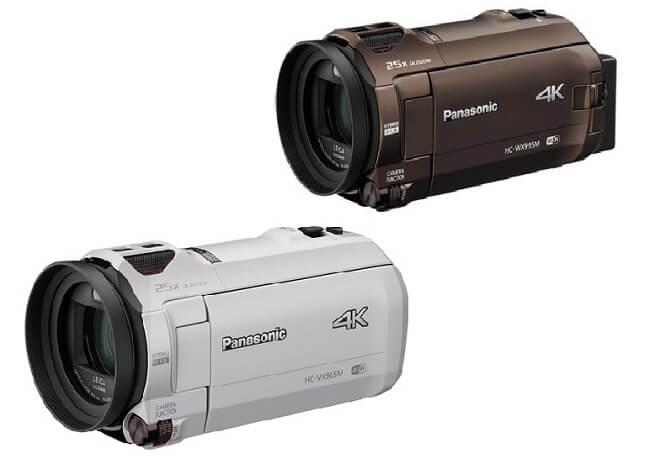 Panasonic 4Kビデオカメラ「HC-WX995M・HC-VX985M」2月16日発売。予約開始!