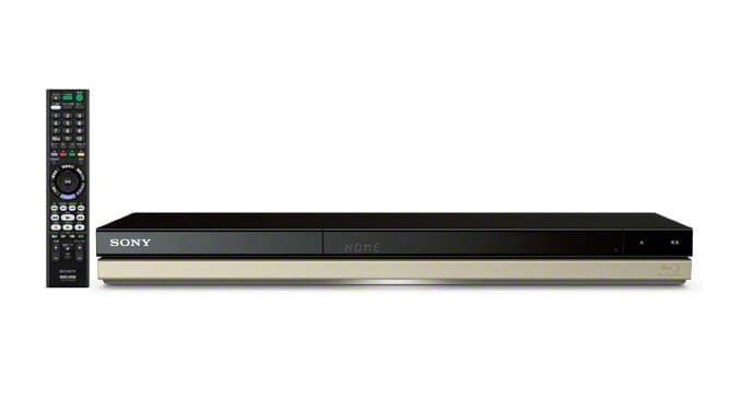 SONYから4Kハンディカム動画取りこみ対応BDレコーダ『BDZ-ZT3500』など全5機種発売