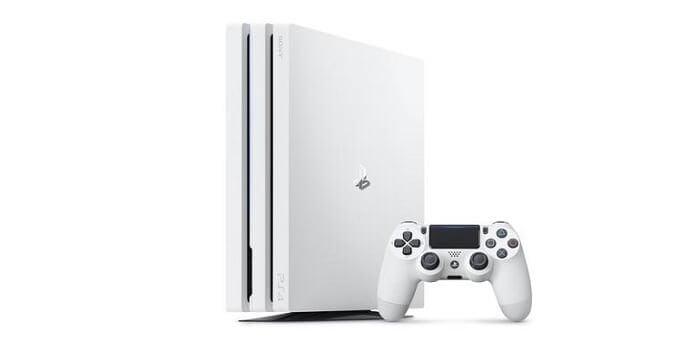 3月8日再販決定!「PlayStation®4 Pro」の「グレイシャー・ホワイト」