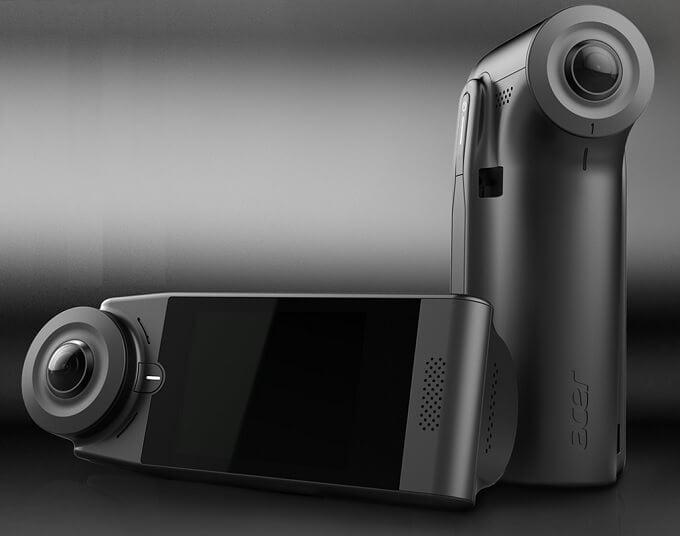エイサー LTE内蔵360度カメラを発表!ドライブレコーダ「Vision360」は、衝突時クラウドに証拠を保存!!