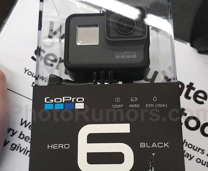 4K60Pに対応した「GoPro Hero 6」9月29日に日本でも発売開始!