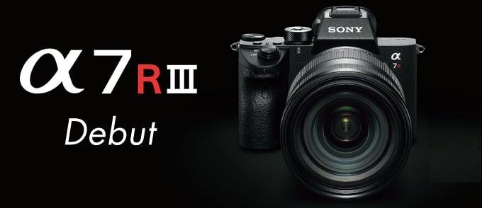 SONY フルサイズミラーレス α7R III(ILCE-7RM3)11月25日発売!