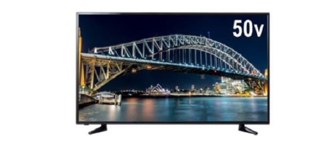 え?あの「ゲオ」から!? 4K対応50型テレビが 税抜き49,800円で販売される!