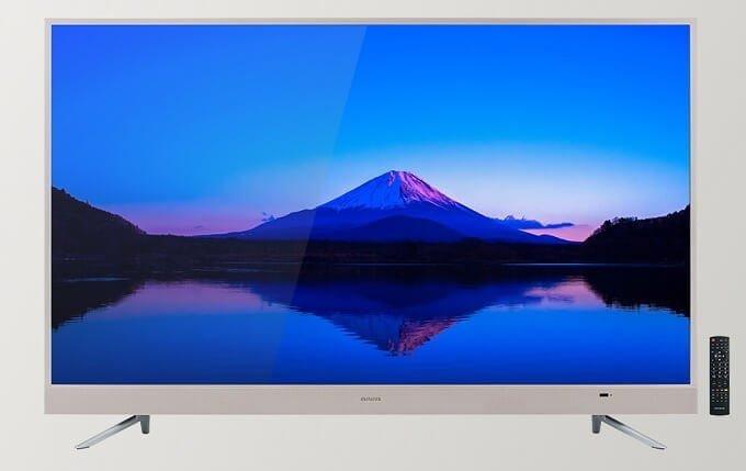 本日1/18発売 aiwaから、IPS液晶 オンキヨー製スピーカー搭載の4Kテレビ 3モデル発売!