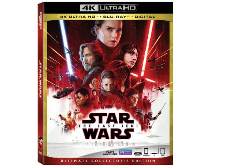 4月25日発売決定!『THE LAST JEDI』4K Ultra HDブルーレイは、Dolby Vision・Dolby Atmos対応か?