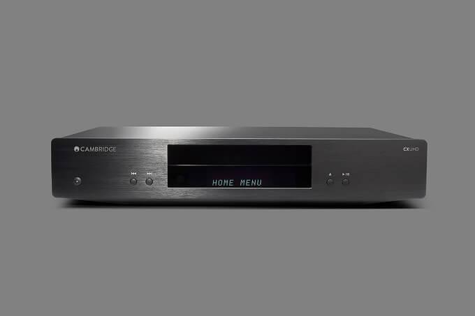 英国「Cambridge Audio」から、4月25日 Ultra HD Blu-rayプレイヤー「CXUHD」発売