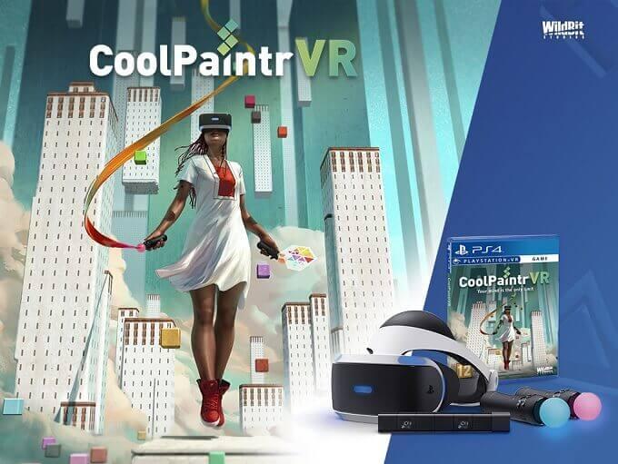 【海外情報】PSVR対応のVRペイントツール「CoolPaintrVR」海外で5月8日リリース