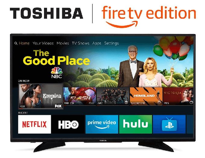 【海外情報】東芝ブランドで「Fire TV内蔵のスマートテレビ」もうすぐ発売