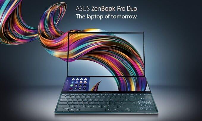 ASUS「ZenBook Pro Duo」を発表 デュアル4Kディスプレイが凄い!日本での発売日は?