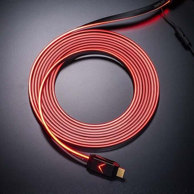 ちょっとおしゃれに?光るHDMIケーブル発売 4K製品も美しく見えちゃうかも?