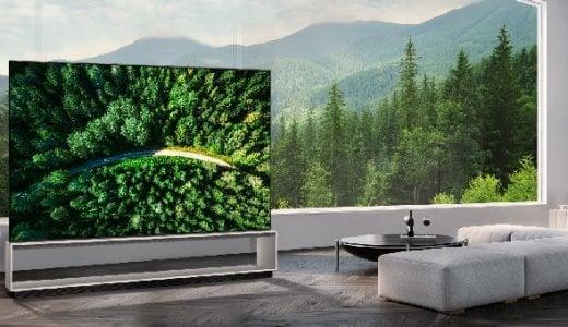 世界初!LGが有機EL 8Kテレビの販売を開始!!今秋 日本でも発売決定!