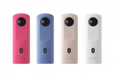 4K対応 360°カメラ「RICOH THETA SC2」12月13日に新発売